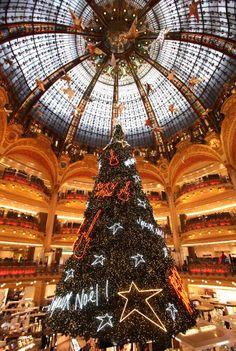 A little Paris shopping mall.