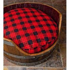 Wine Barrel Pet Bed