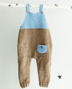 Hand Knit Overall