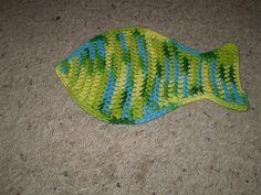 Fish Washcloth/Dishcloth by Judith Prindle