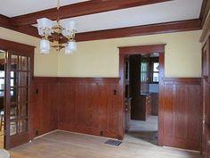 1912 Craftsman Dining Room