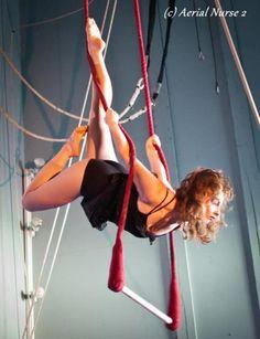 Bucket list: Trapeze class
