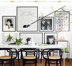 Home inspiration / black + white (Instagram: the_lane)