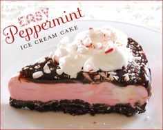 Peppermint Ice Cream Cake