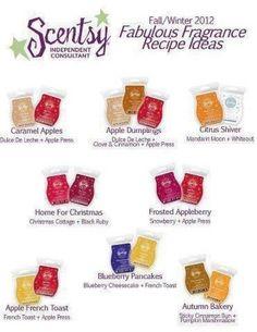 Scentsy Recipes #scentsy   http://melissasorem.scentsy.us