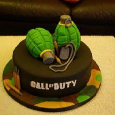 Call of duty cake I made