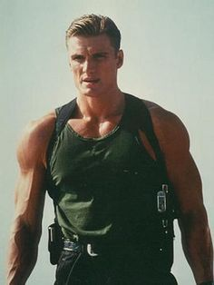 Dolph Lundgren...literally the most perfect specimen of man to ever walk the face of the earth.
