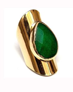 Emerald Green Ring.