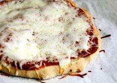 Gluten Free Pizza. Get more kid-friendly recipes like this at Plum Organics Little Foodies Cookbox https://www.plumlittlefoodies.com/little_foodies/2012/04/gluten-free-pizza/