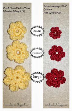 Cheerful Flower Power Valance Crochet Pattern | AllCrafts