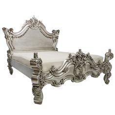Fab.com | Royal Fortune Bed Silver Leaf