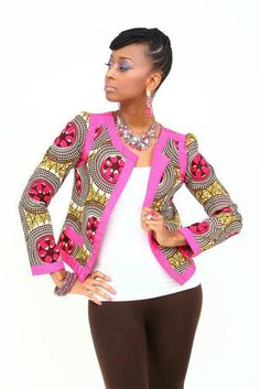Its African inspired. jacket, african fashion, african inspir, africaninspir fashion, african print, blazer, ankara, african style, africanfashion
