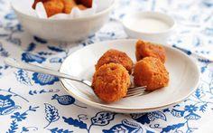 games, beerchees potato, parti appetis, potato bite, side appet, food, potatoes, recip, appet entre