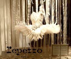 store windows, danc, flower tutu, flower dress, gorgeous tutu, ballet costum, beauti, repetto window, repetto pari