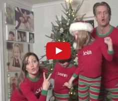 This is How You Make a Family Christmas Card! - Hahaha. This family's video Christmas card puts just about all others to shame. Too awesome.