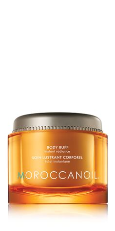 Made with natural orange peel exfoliator, Body Buff is gentle enough for daily use to polish away dead skin cells and instantly transform your skin. The added benefits of argan oil blended with Vitamin E and nourishing avocado, grape seed, safflower, sesame and sweet almond oils, rejuvenate your skin with intense moisture.