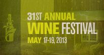 31st Annual Wine Festival on May 17-19, Paso Robles Wine Country  www.pasowine.com