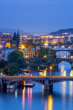 #Prague at night