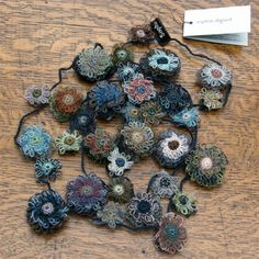 Selvedge - Sophie Digard crochet necklace