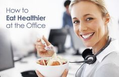 10 ways to eat healthier at the office and bypass that box of donuts in the breakroom for good! | via @SparkPeople #TeamSkinnyJeans #nutrition