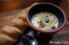 corn sausage chowder ... perfect fall food - One pound of pork sausage, 1 cup coarsely chopped onion, 3 cups 1/2-inch pieces red potatoes, 2 cups water, 1 teaspoon salt, 1/2 teaspoon dried oregano, 1/8 teaspoon black pepper, one 15 1/4-ounce can whole-kernel corn {drained}, one 14 3/4-ounce can creamed corn, one 12-ounce can evaporated milk Sausages, Real Foods, Chowders, Corn Sausag, Corn Chowder, Sausag Chowder, Soup, Fall Foods, Comfort Foods