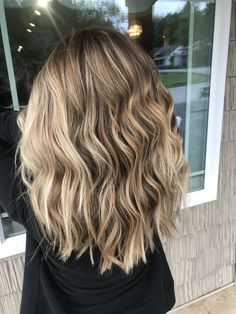 Bronde hair with highlights and lowlights