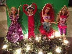This is HILARIOUS!!  She has the funniest Shelf on the Elf ideas!! The Elf Planking one made me laugh so hard. Best Elf on the Shelf Ideas ever.