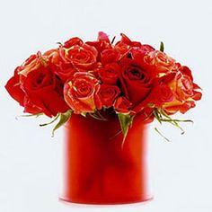 "Read: ""Create and Orange and Red Flower Arangement"" - Orange Red Rose Arrangement - Dean Zamani #orange #flowers #diy flowers"