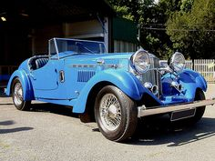 1933 Railton Light Eight Roadster.