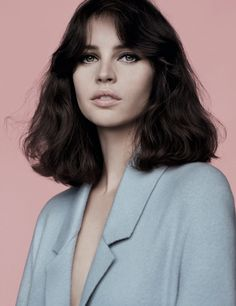 Felicity Jones - Vogue UK February 2014