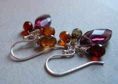 Merlot in Autumn Earrings by Sueanne Shirzay on Etsy, $42.00