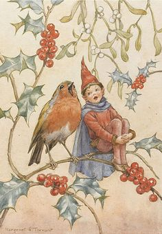Margaret W. Tarrant (1888-1959) - Christmas Duet by sofi01, via Flickr