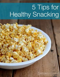 5 Tips for Healthy Snacking #healthysnacks #realfood #healthfood