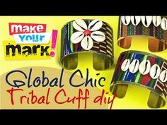 How to: Global Chic Tribal Cuff