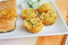 Cheesy Quinoa Bites