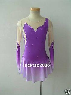 Gorgeous Figure Skating Dress Ice Skating Dress   eBay