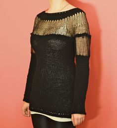 Ravelry: Faraday Sweater pattern by Leah Goldstein