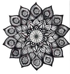 Lotus Mandala Tattoo | mandala | Tattoo ideas