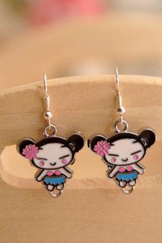 Japanese girl earrings