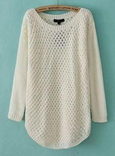 White laces winter sweater fashion