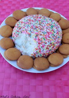 What's Cooking, Love?: Funfetti Cake Cheese Ball
