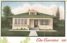 californian bungalow, aladdin kit, kit homes, bungalow idea, craftsman style