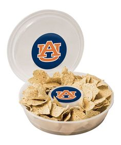 Take a look at this Auburn Chip & Dip Set by Boelter Brands on #zulily today!