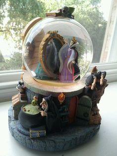 Evil Queen Disney Snow Globe | eBay