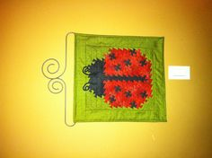 Ladybug Twister Quilt- Ladybug Twist by Handcrafts By Jennifer  www.handcraftsbyjennifer.com