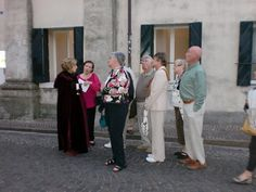A theaterical tour of Castlefranco awaited the Sarasota Sister Cities delagation during their 2010 tour of Treviso Province