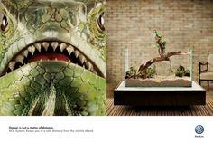 Volkswagen ACC System: Iguana Ad