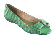 #Sapatilha verde esmeralda