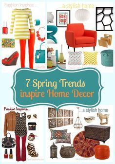 trend inspir, inspirationhom decor, decor idea, spring trend