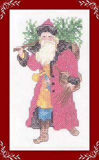 Santa with twigs